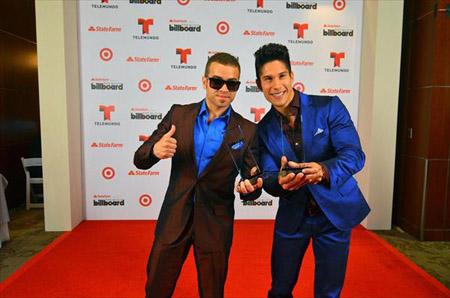 El dúo venezolano consiguió el premio como mejor Grupo Tropical del Año en los Billboard