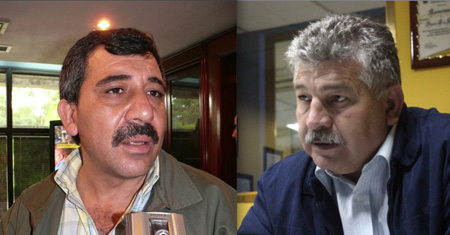 Michel Ferrandina y Yilver Giménez de Copei Miranda