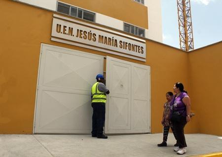 Hoy arrancan las clases en la nueva edificación para los estudiantes de la Unidad Educativa Jesús María Sifontes