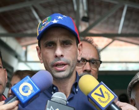 Capriles afirmó que esta cifra es una demostración contundente de que los venezolanos quieren cambiar este gobierno por la vía constitucional