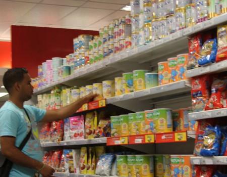 Bs, 4.,800 tras reaparecer en los supermercados altomirandinos esta semana.