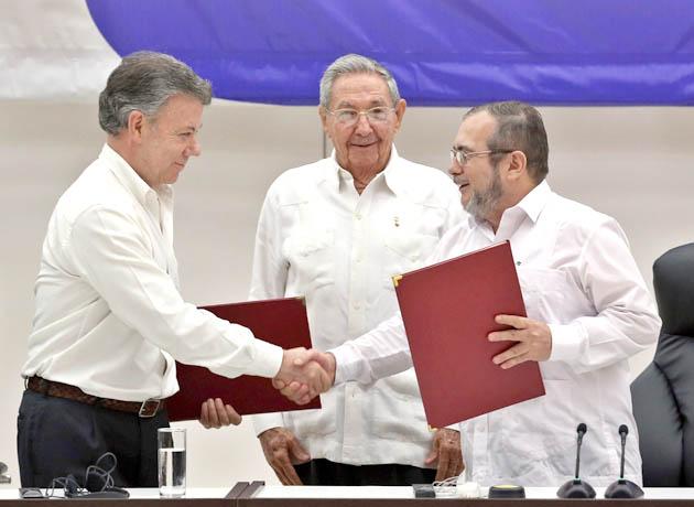 CUBA COLOMBIA PAZ