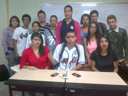 Los jóvenes proclamaron febrero como el mes de la rebeldía