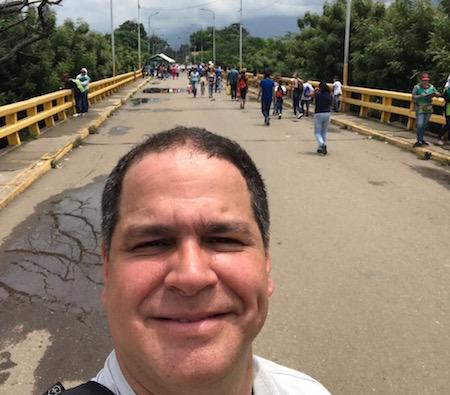 Luis Florido salió por la frontera con Colombia rumbo al Consejo Permanente de la OEA