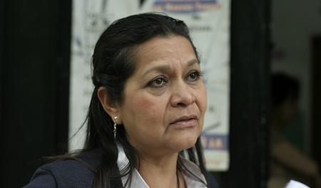 Gladys Catano, coordinadora de enfermería del ambulatorio de Los Nuevos Teques. Foto: Deisy Peña