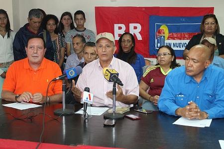 El alcalde José Luis Rodríguez estuvo en la rueda de prensa.